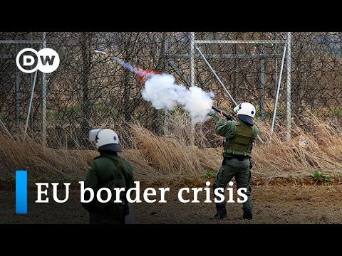 EU refugee disaster: Tensions excessive on Turkey's border with Greece   Deal with Europe
