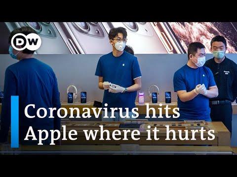 Apple warns that coronavirus is hurting income | DW Enterprise