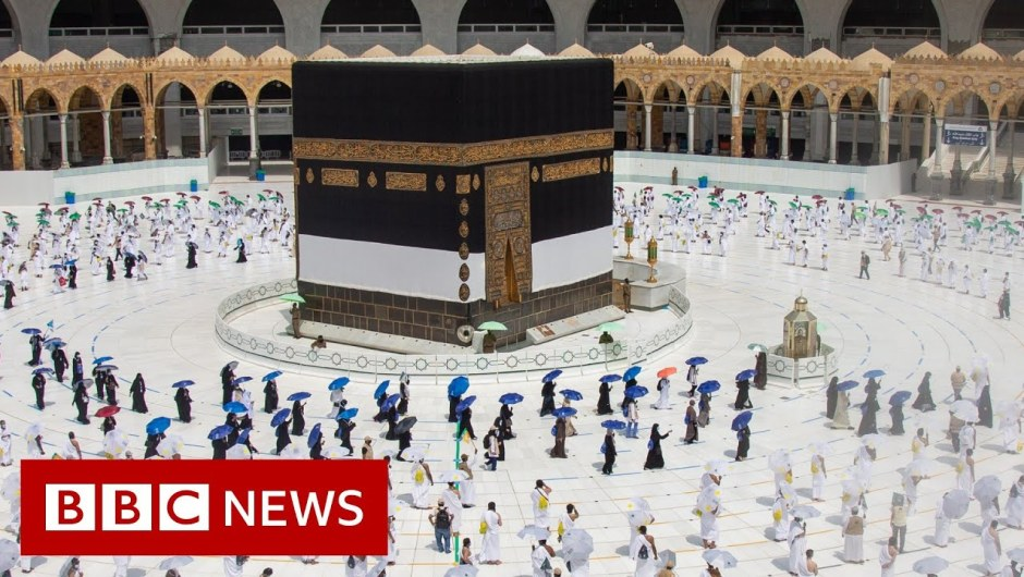 Coronavirus: Scaled again Hajj pilgrimage begins in Saudi Arabia – BBC Information