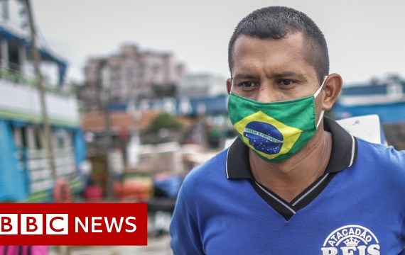 Coronavirus: Brazil data third-highest Covid-19 an infection stage – BBC Information