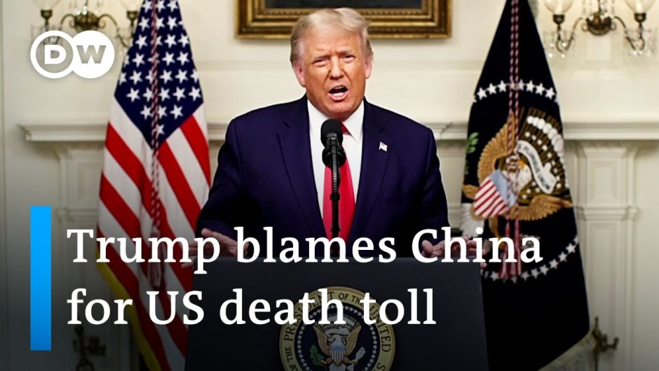 Trump lays blame on China because the US data greater than 200.000 COVID deaths | DW Information