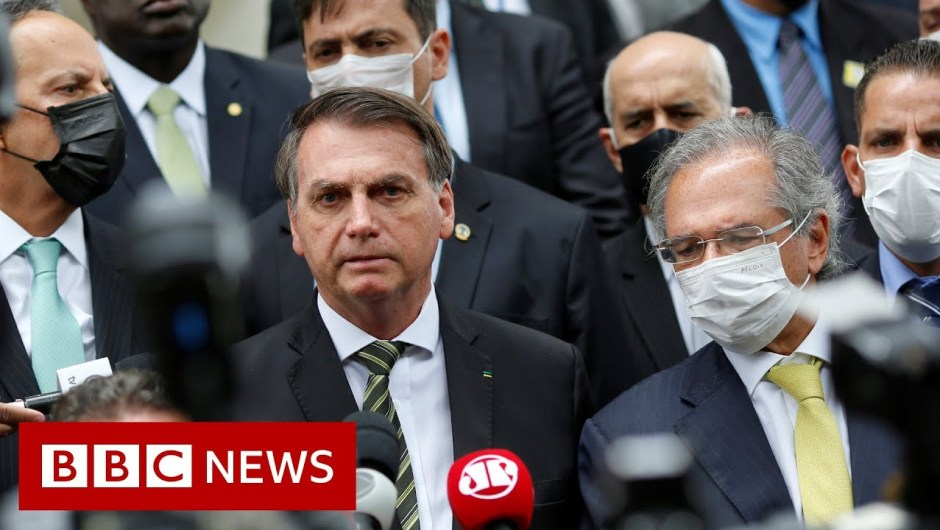 Coronavirus recommendation ignored by Brazil's President Jair Bolsonaro – BBC Information