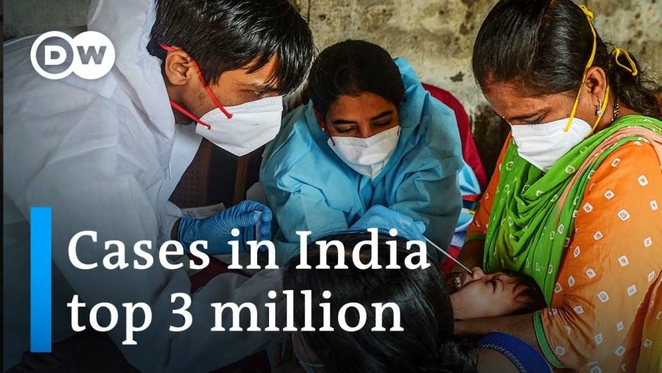 Coronavirus India: Professionals flee cities as case numbers soar | DW Information