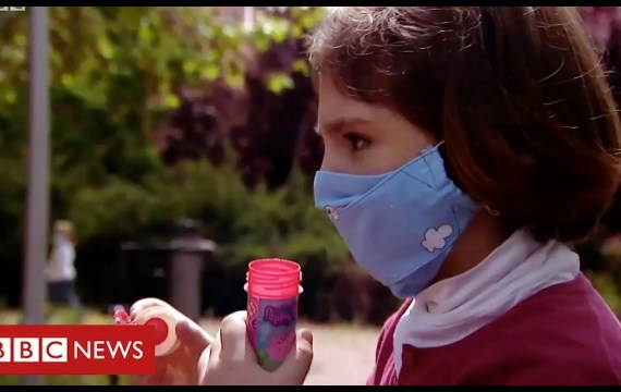 Coronavirus:  kids in Spain go away houses for first time in 6 weeks – BBC Information
