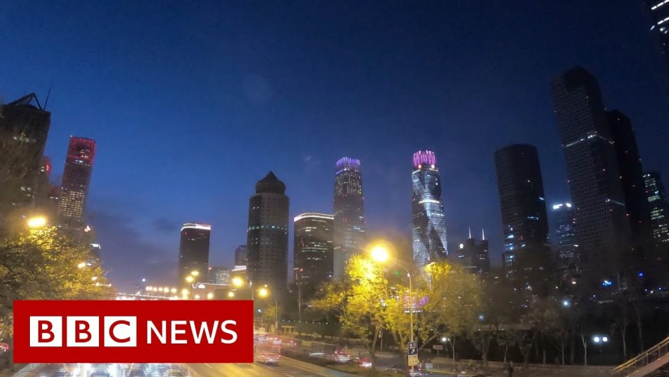 Streets of Beijing again to life after Covid – BBC Information