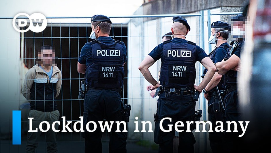 400,000 pressured into lockdown after native COVID-19 outbreak in Germany   DW Information