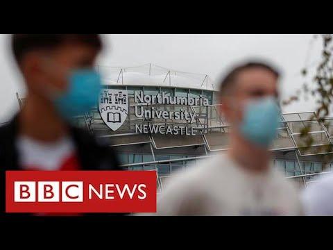 750 college students in Northumbria check optimistic in greatest college coronavirus outbreak – BBC Information