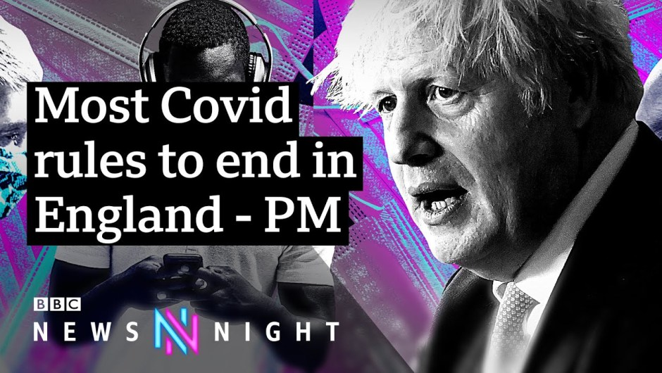 Coronavirus: Covid guidelines to finish, however with circumstances rising is it the best time? – BBC Newsnight