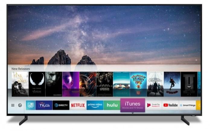 Samsung Smart TVs To Support iTunes Movies