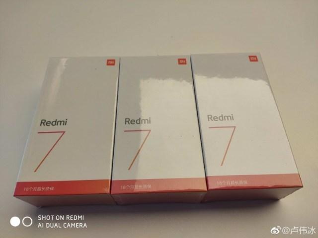 Redmi 7 Retail Box
