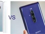 Samsung Galaxy S10 vs Sony Xperia 1 Camera