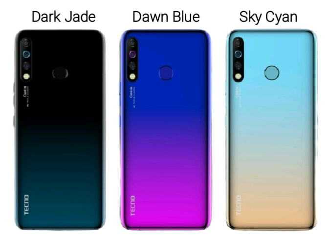 Tecno Camon 12 Price is affordable and the specifications include: 4000mAh battery triple camera sensors, 16MP front camera, 64GB internal storage, and powered by MediaTek Helio P22 chipset