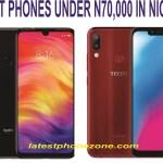 Best Budget Smartphones Under 70,000 Naira In Nigeria