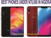 Best budget smartphone under 70,000 Naira in Nigeria