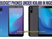 Best Budget smartphones under 30000 Naira in Nigeria