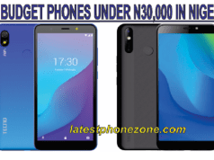 Best Budget smartphones under 30000 Naira in Nigeria