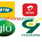 All Nigerian Network Data Plan Codes