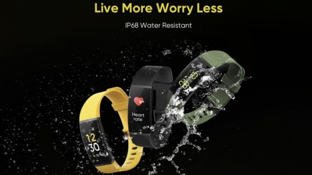The first Realme Smart wrist Band price