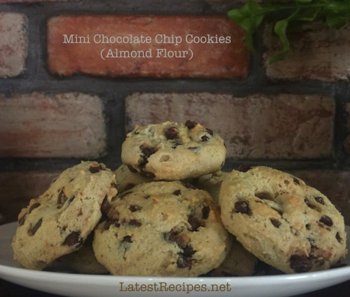 MIni Chocolate Chip Cookies (Almond Flour)