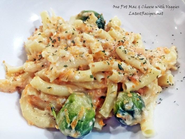 One Pot Mac & Cheese with Veggies