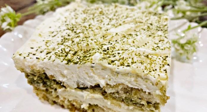 Green Tiramisu (Matcha Tiramisu)