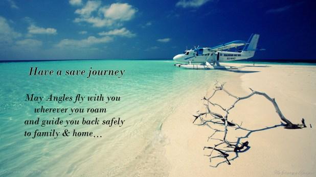 safe flight wishes for best friend
