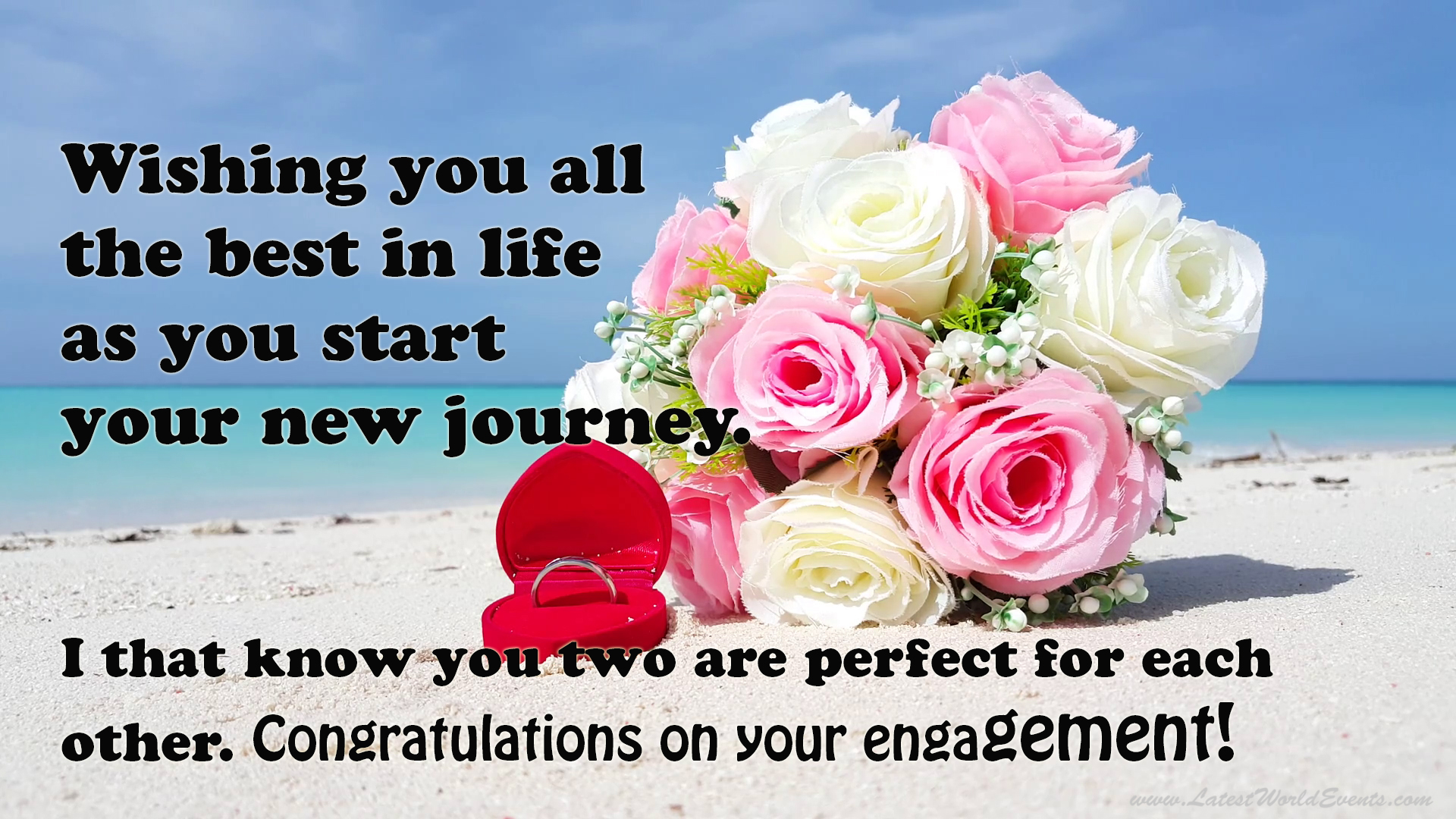 engagement quotes for friend latest world events