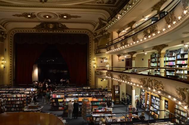 Librairie El Ateneo, Buenos Aires