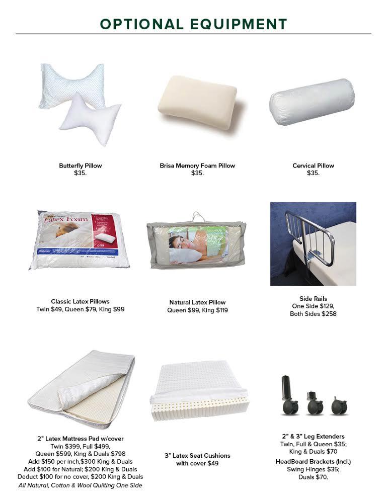 100 pure talalay classic natural faom and organic latex foam pillows
