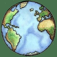 LATG logo globe