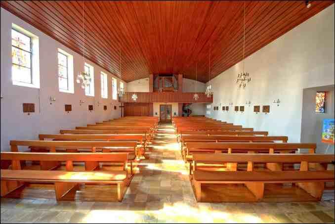 Innenraum - St. Antonius Kirche Lathen-Wahn