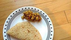 Egg masala,Scrambled egg masala,side dish for roti,