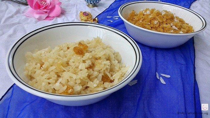 Sweet Aval,Poha,Indian,dessert,Snack,festival,easy,Healthy,Gluten free,vegan