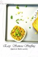 Samosa stuffing,Indian,snack,Samosa,Easy