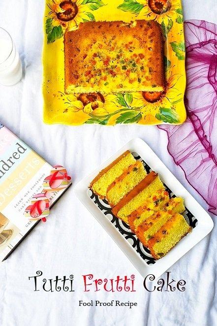 Tutti frutti Cake,Tutti frutti,Cake,Baking,Bake,Eggs,Kids,Christmas