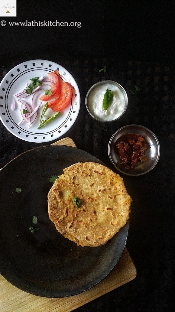 Aloo Paratha, Paratha,breakfast,Indian,Potato,Vegetarian