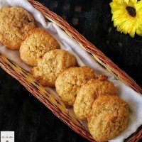 Whole Wheat Coconut Cookies - The best Coconut Cookies