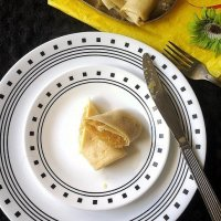 Alle Belle - Goan Pancakes stuffed with Coconut
