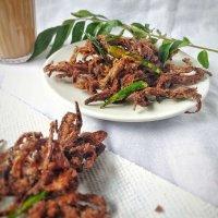 Ragi Pakoda / Finger Millet fritters