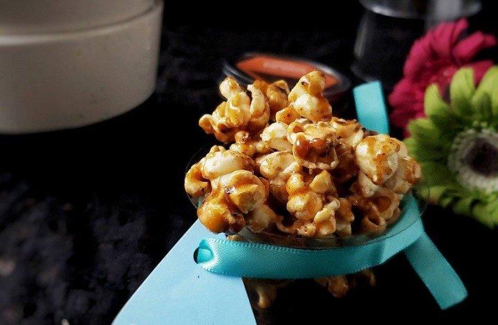 Pumpkin Pie Spice Popcorn,Popcorn,Snack,Christmas,Easy,Pumpkin pie spice,Vegetarian,kids,
