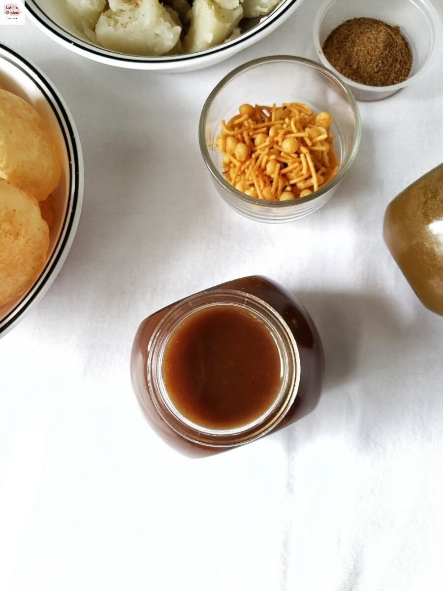 Imli ki Chutney, Dates tamarind chutney, Sweet chutney for chaat,Indian,holi recipe,