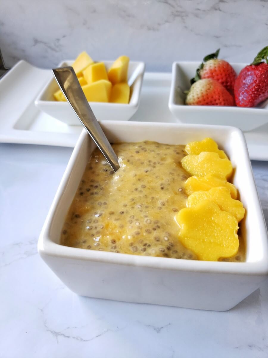 Chia pudding, Chia pudding for breakfast,Vegan Chia Pudding,breakfast,Chia pudding with coconut milk