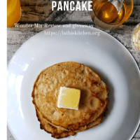 Whole Wheat Blender Pancake - WonderMill Product review and Giveaway