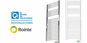 Portada publicacion toalleros eléctricos gama Sygma de Rointe