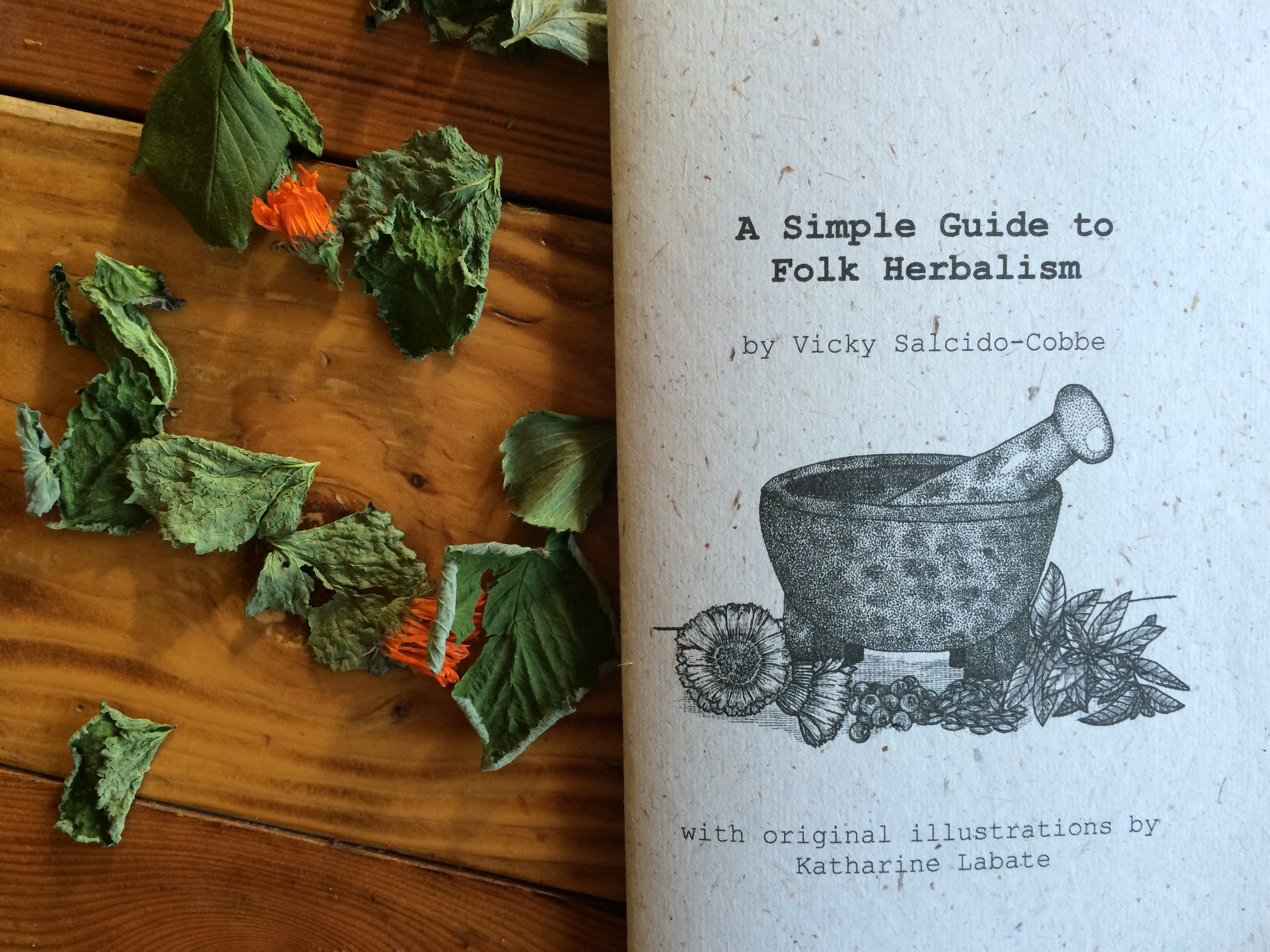 A Simple Guide to Folk Herbalism, 2nd Edition Booklet