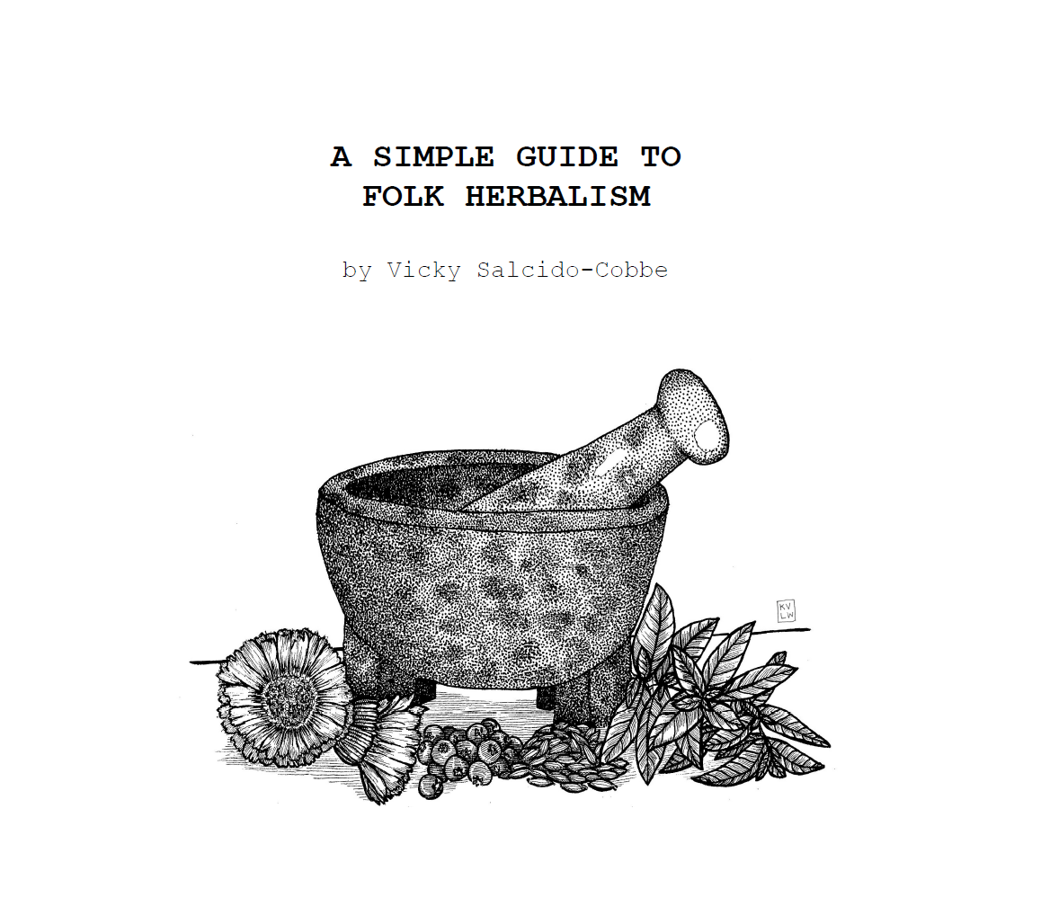 A Simple Guide to Folk Herbalism, 2nd Edition (DIGITAL PDF)