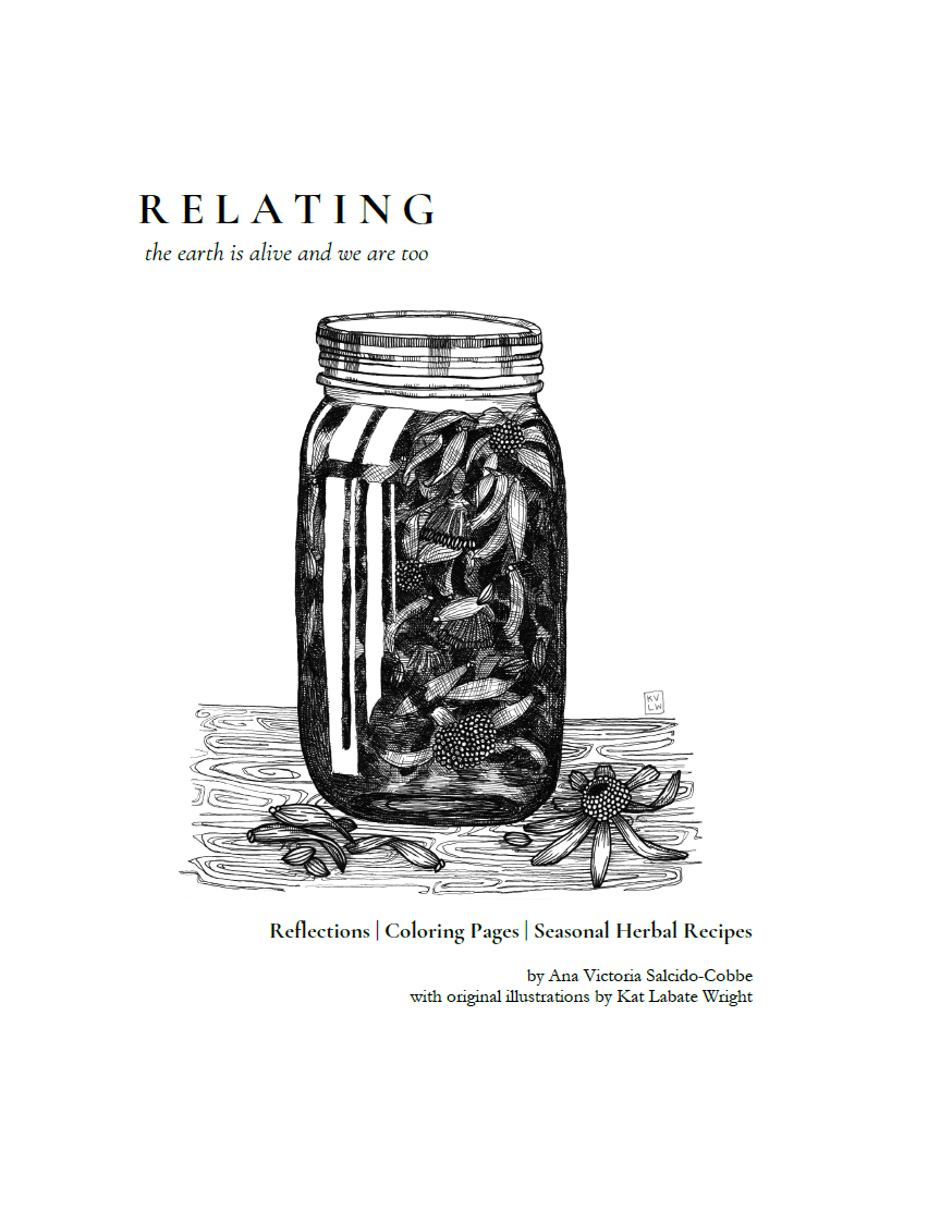 RELATING | Reflections, Coloring Pages, & Seasonal Recipes (DIGITAL PDF)