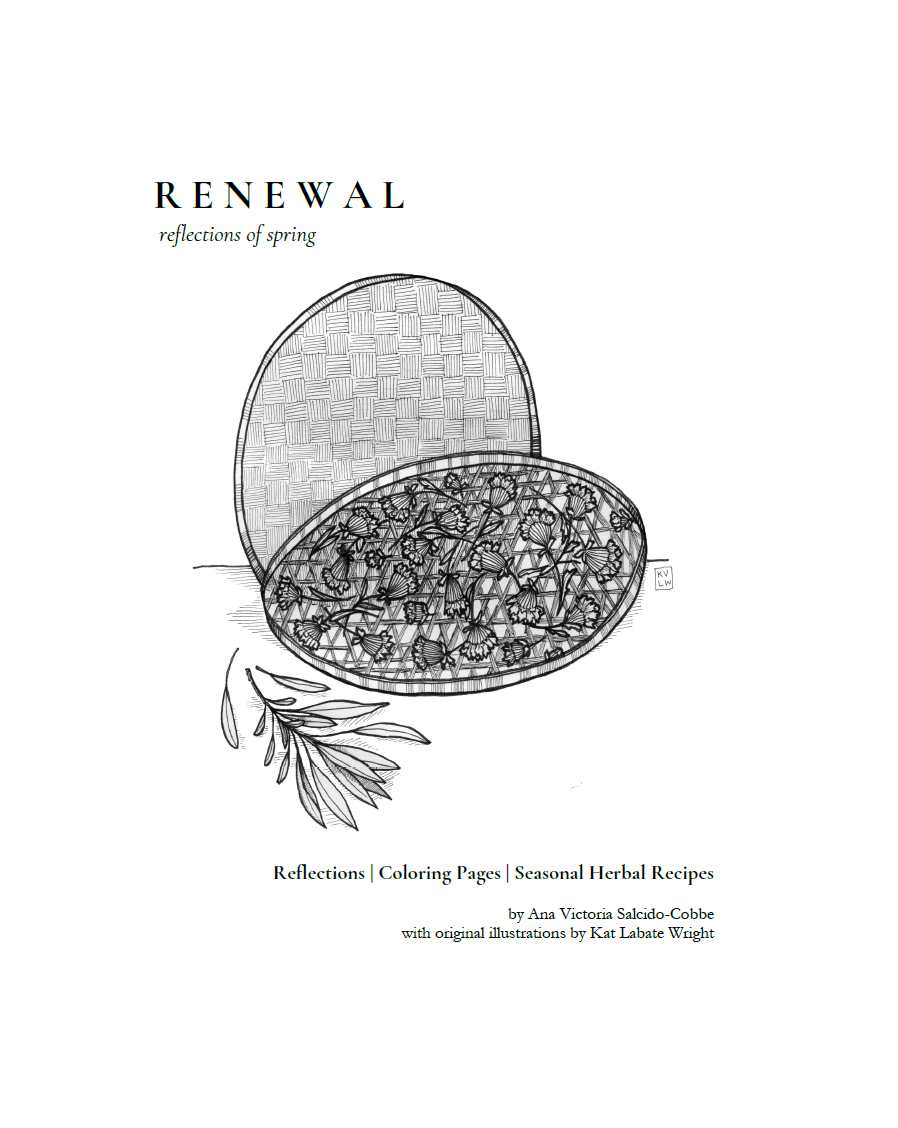 RENEWAL | Reflections, Coloring Pages, & Seasonal Recipes (DIGITAL PDF)
