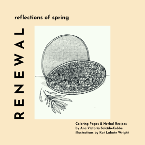 RENEWAL | Coloring Pages & Seasonal Recipes (E-BOOK)