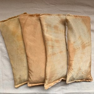 Silk Eye Pillows | Naturally Dyed